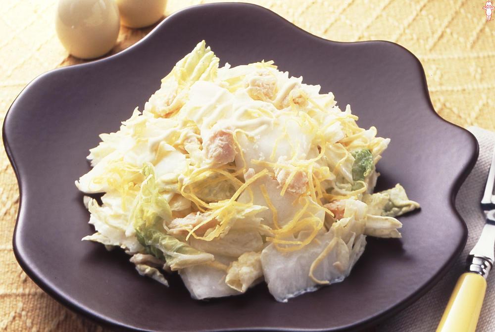 ヘルシーチキンと白菜のさっぱりサラダ