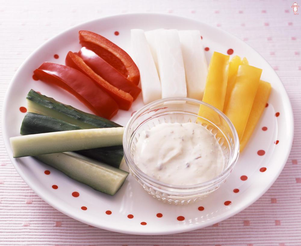 写真:野菜スティックサラダ バーニャカウダ風