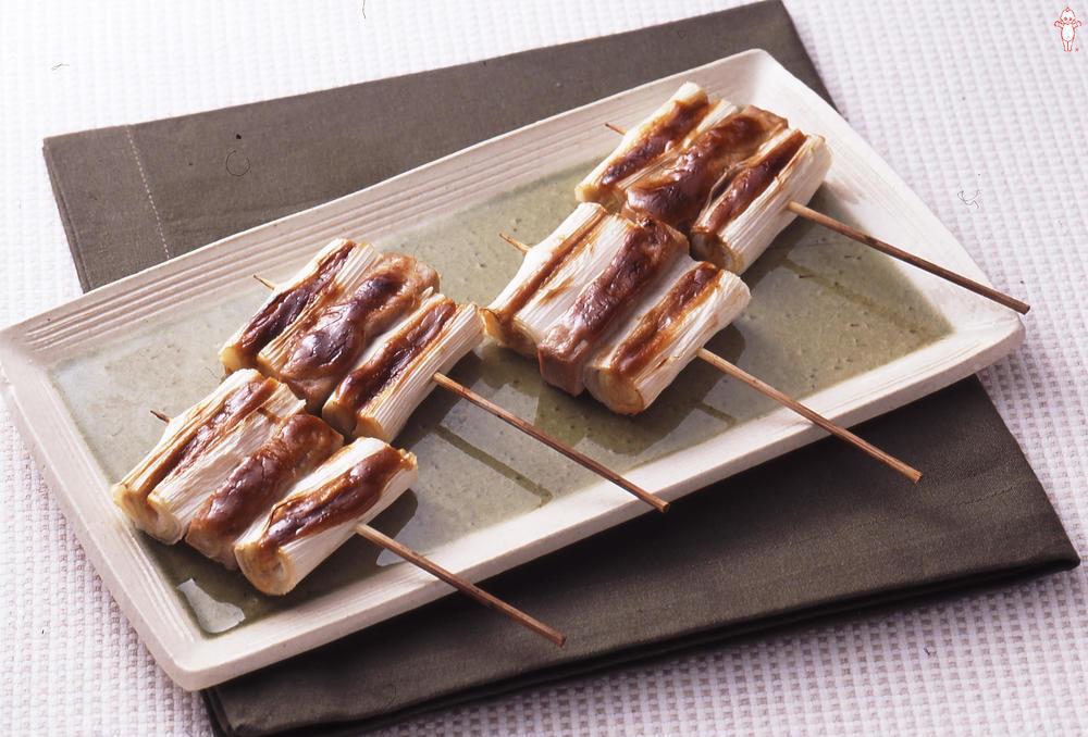 写真:長ねぎとまぐろの味噌マヨネーズ焼き