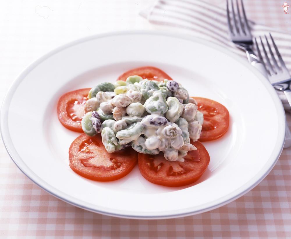 写真:豆・豆サラダ