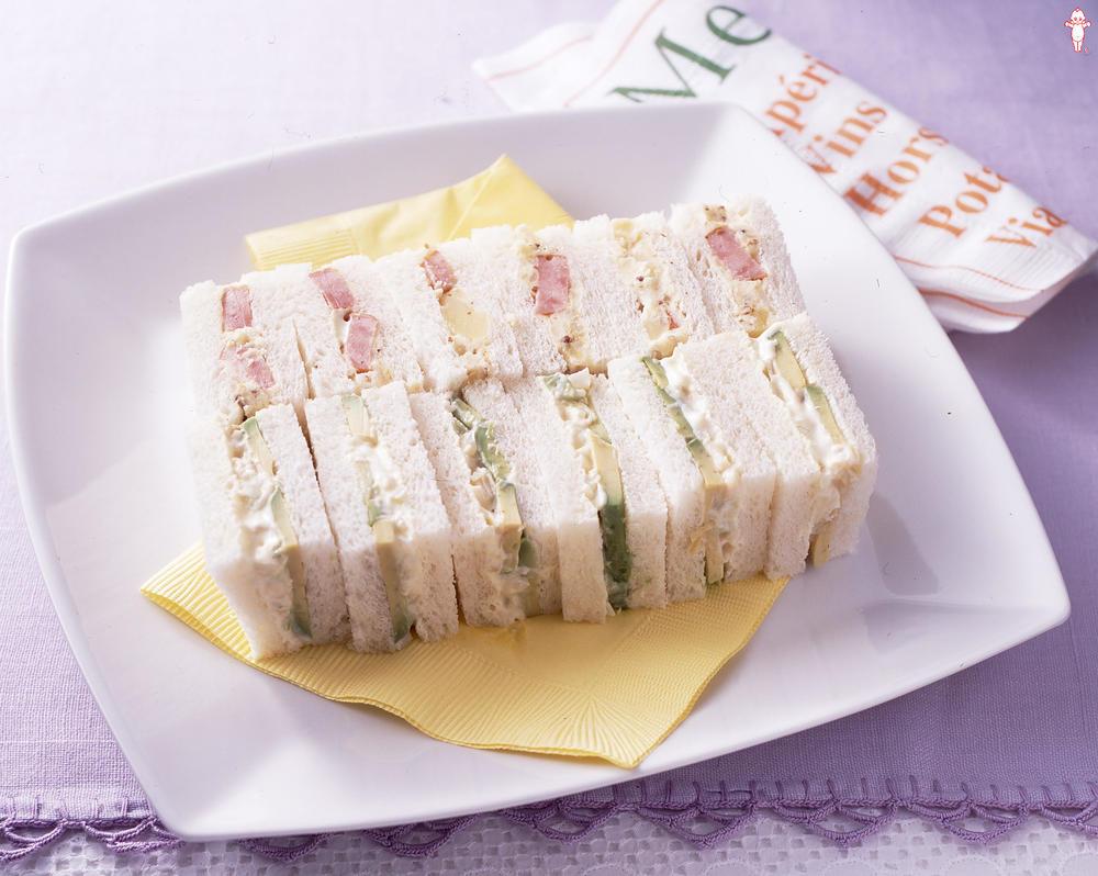 写真:サンドイッチ2種