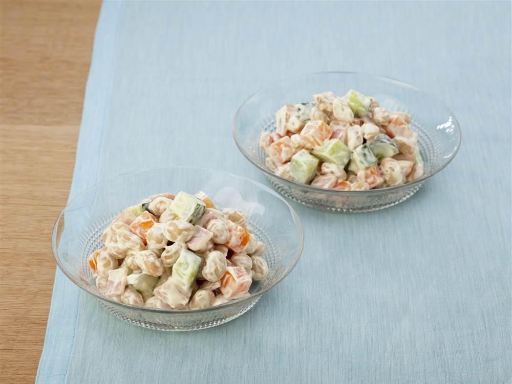写真:大豆サラダ