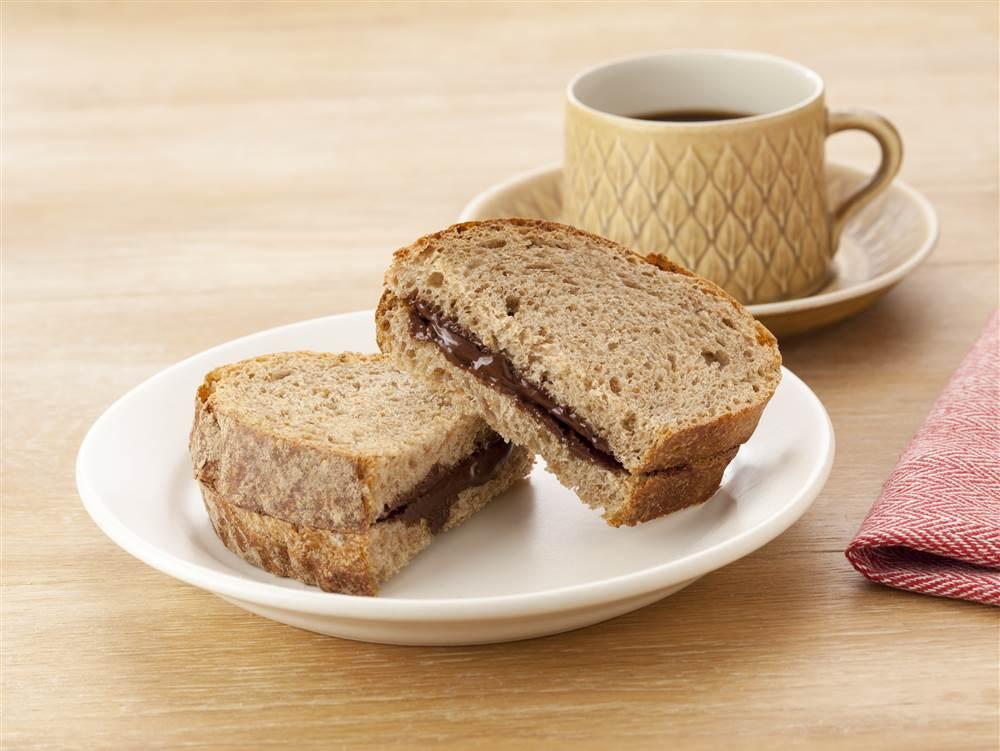 写真:チョコホイップトーストサンド