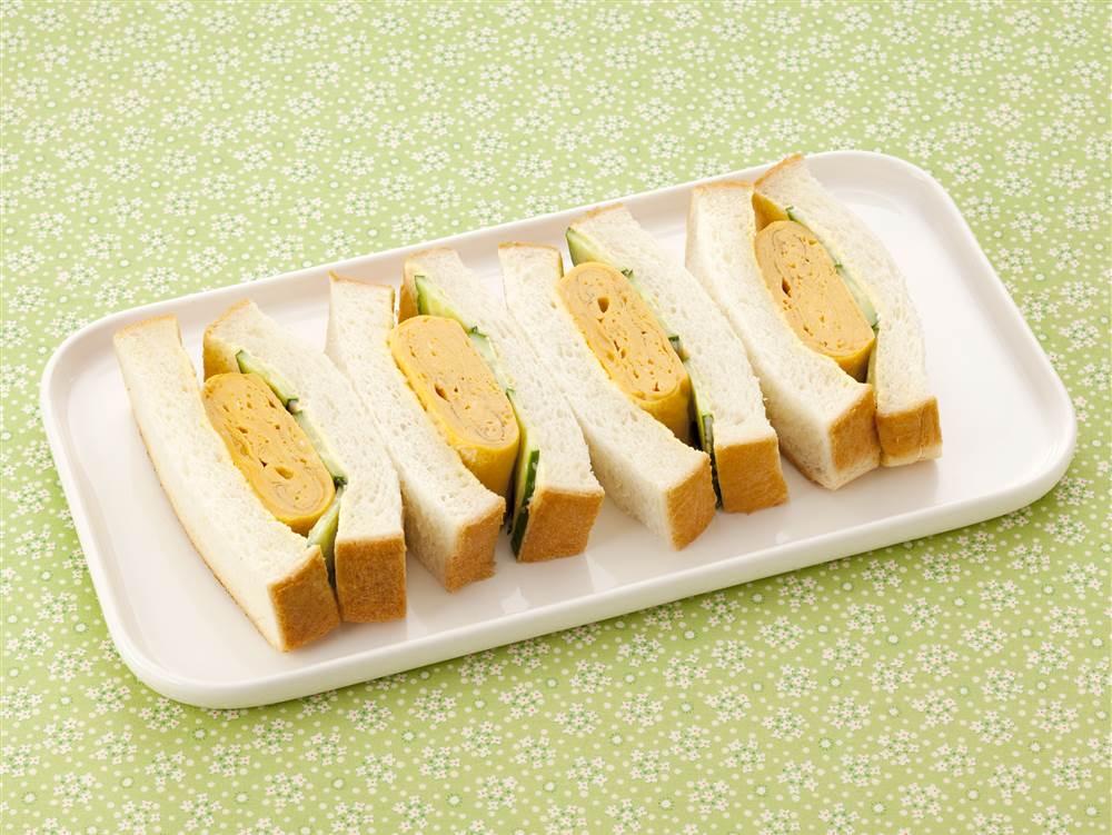 写真:玉子焼きサンドイッチ