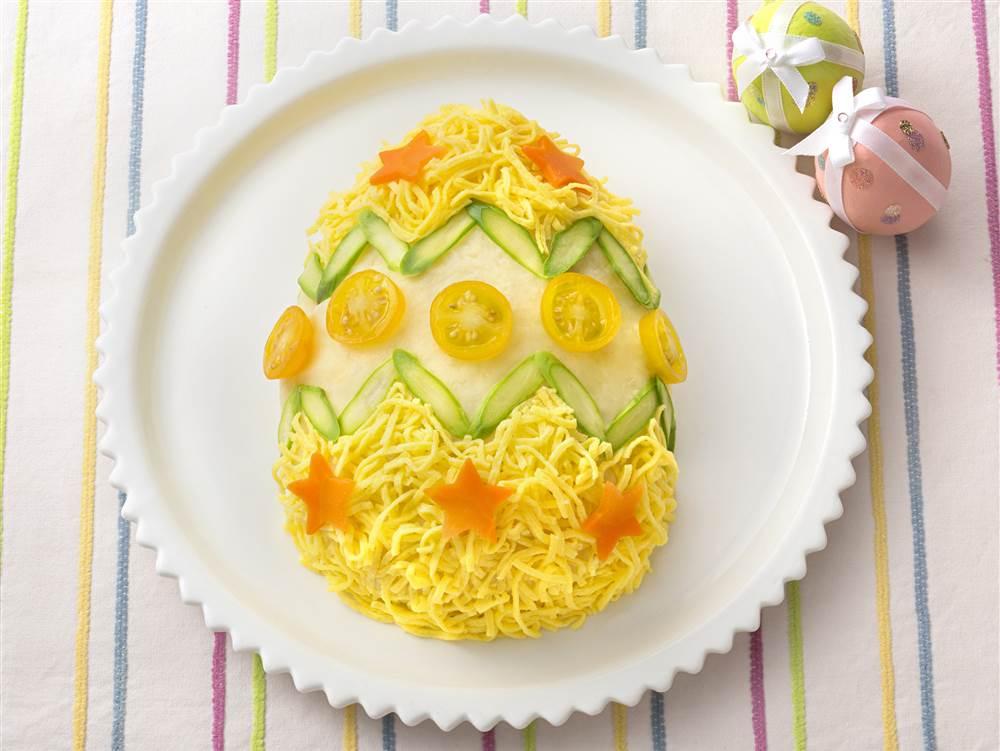写真:ポテサライースターエッグ