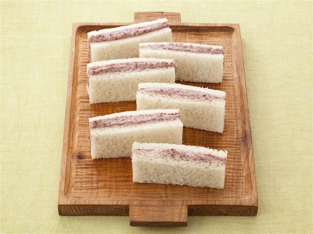 写真:レッドキドニーのマヨフムスのサンドイッチ