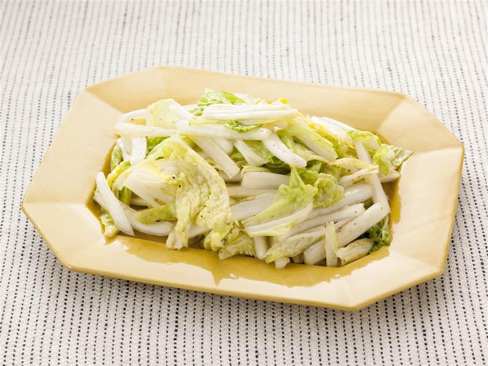 写真:白菜のナムル