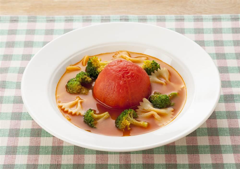 写真:まるごとトマトのミネストローネ