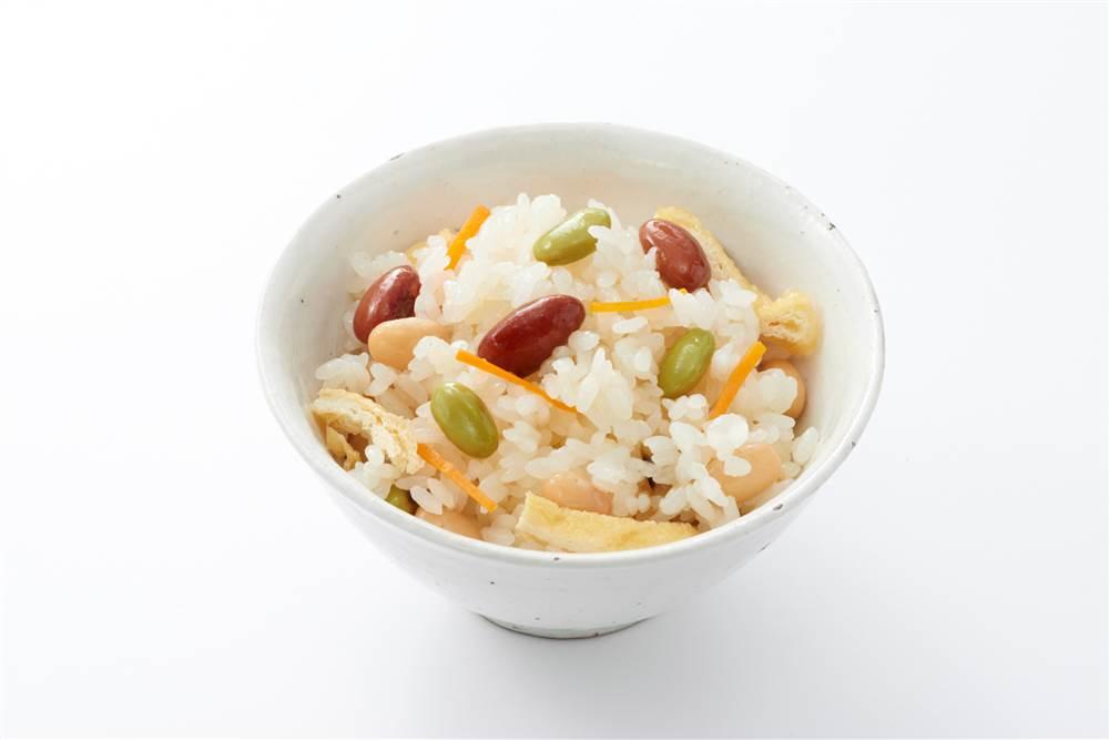 写真:和豆の炊き込みごはん