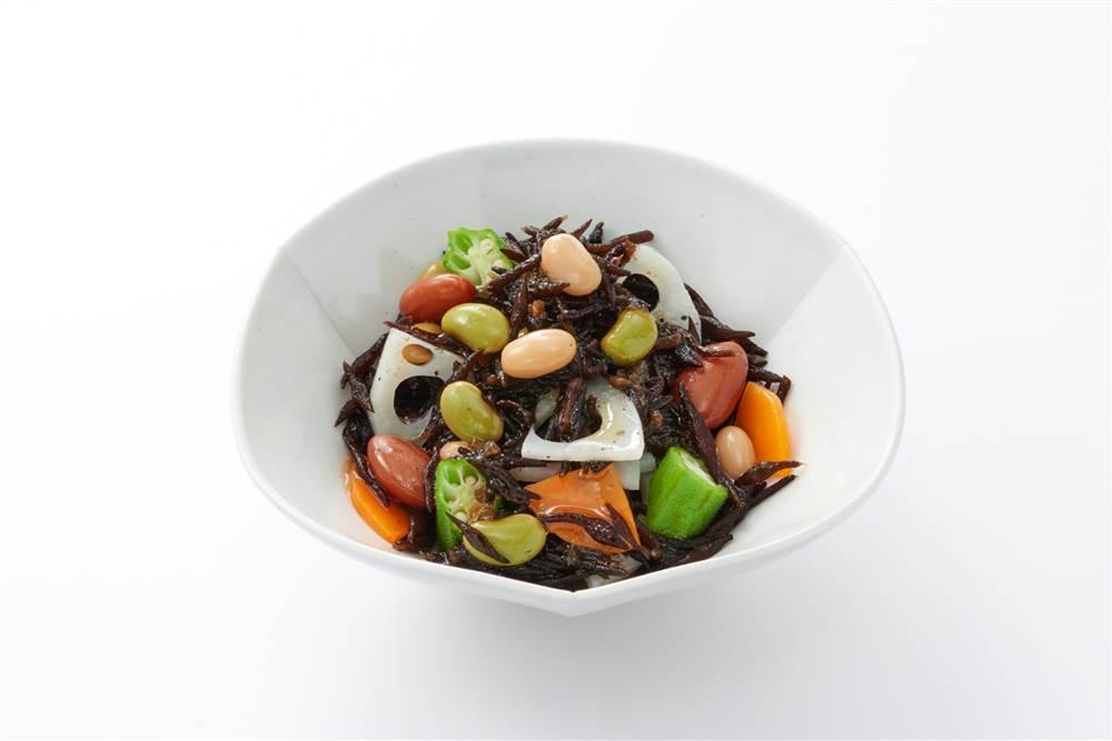 写真:和豆とひじきのあえサラダ
