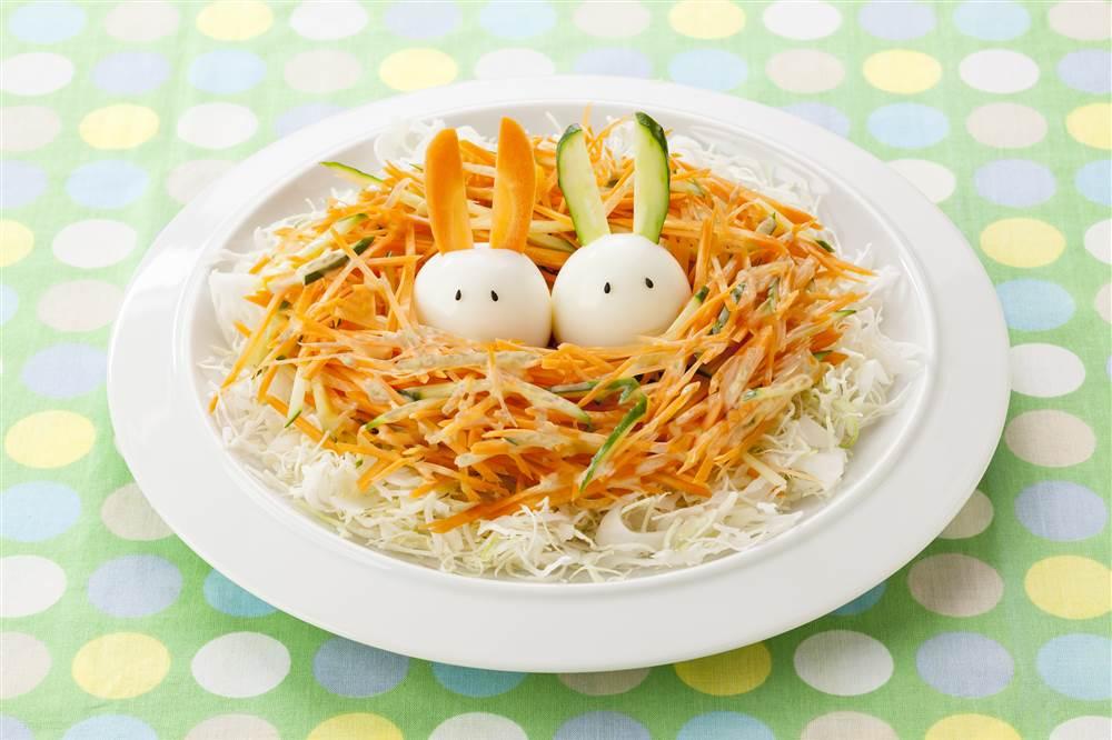 写真:たまごうさぎの巣ごもりサラダ