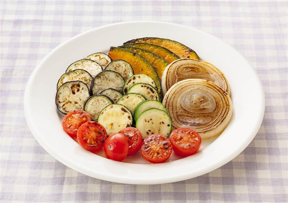 写真:焼き野菜のマリネサラダ