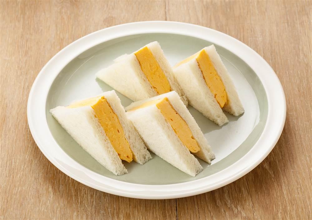 写真:マヨネーズで!厚焼きたまごのサンドイッチ