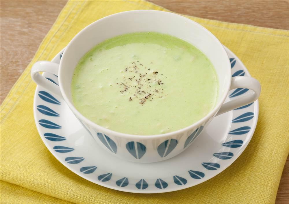 写真:アボカドスープ