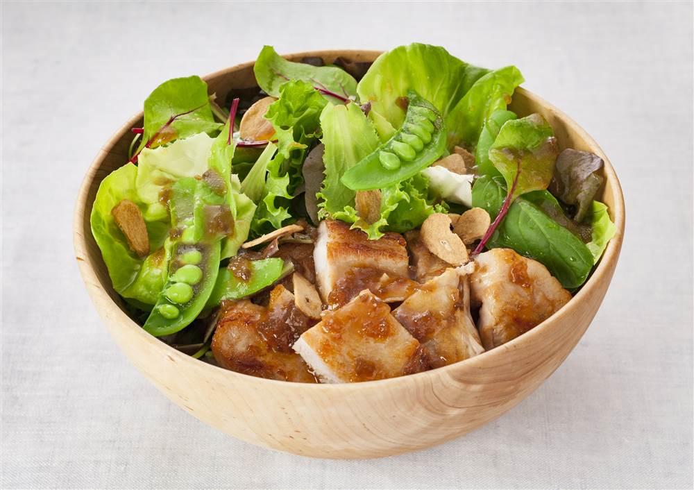 写真:豚ロース肉のベジボウル