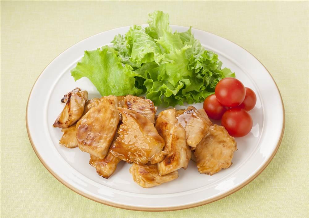 写真:鶏むね肉のてりマヨ焼き