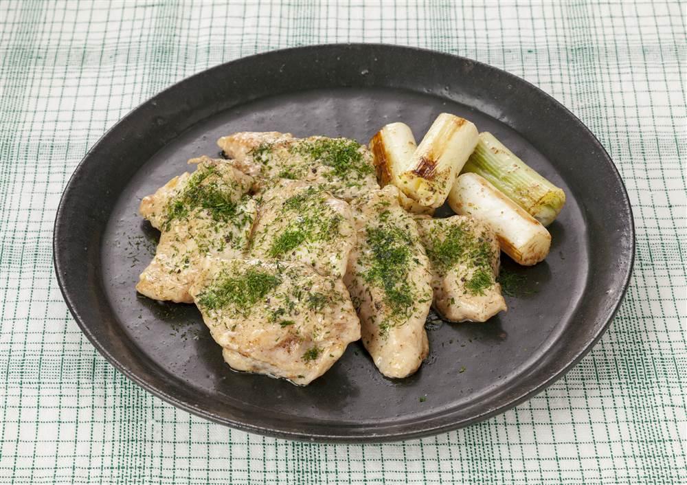 写真:鶏むね肉の磯辺マヨ焼き