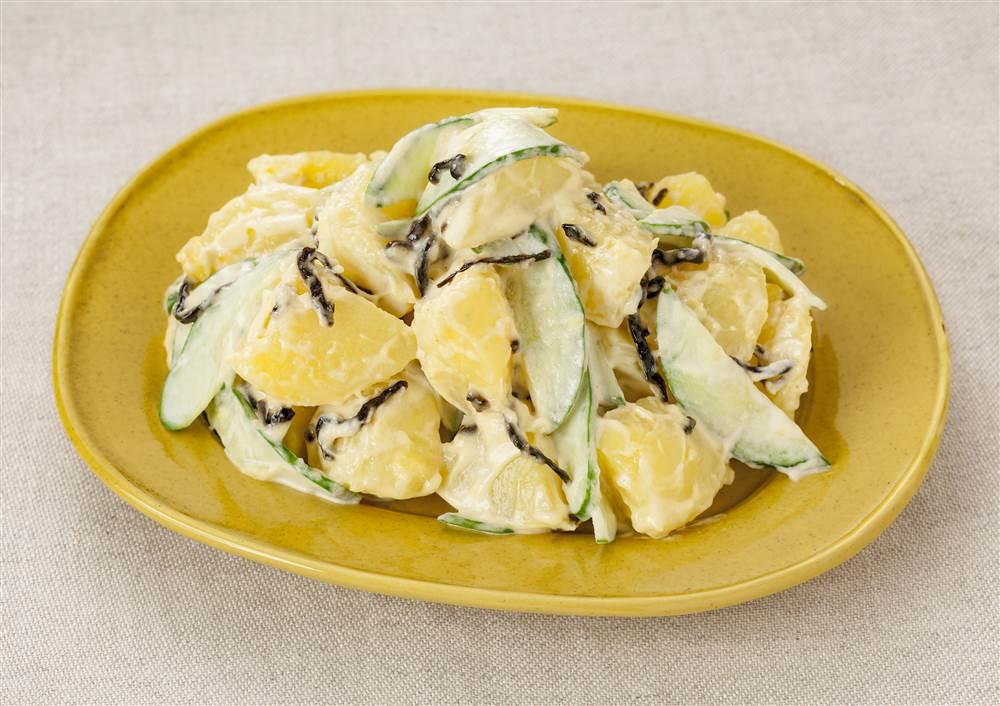 写真:塩昆布ときゅうりのポテトサラダ