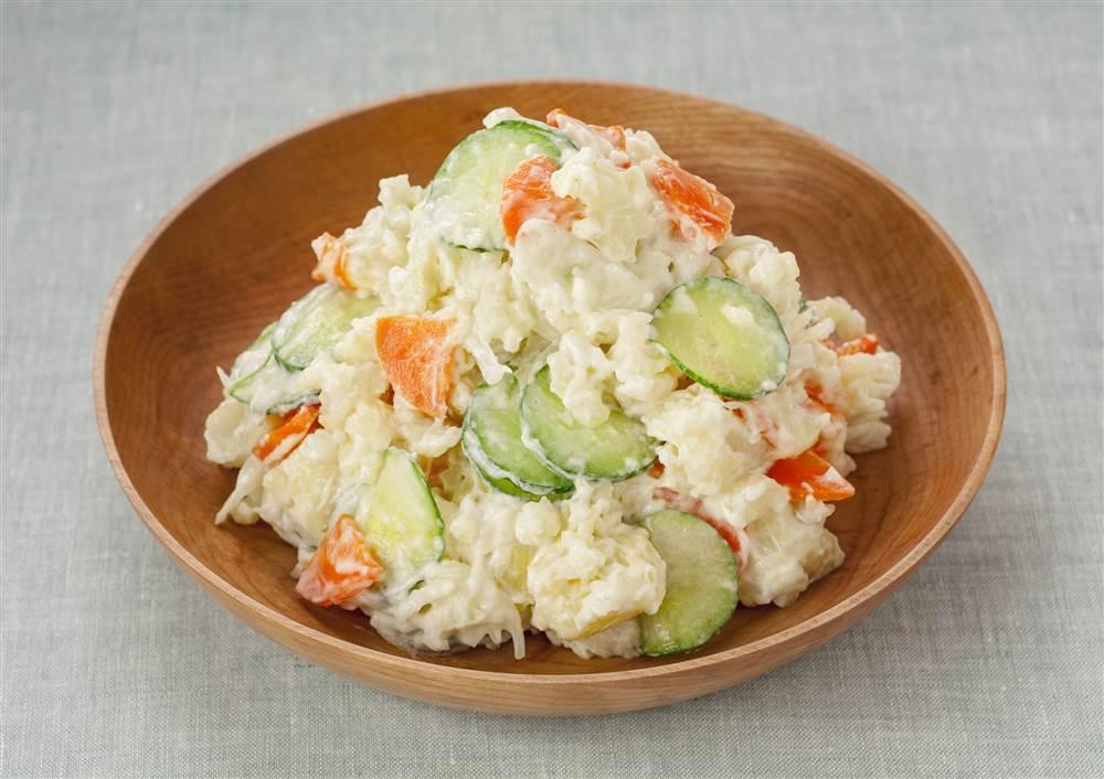写真:エッグケアのポテトサラダ