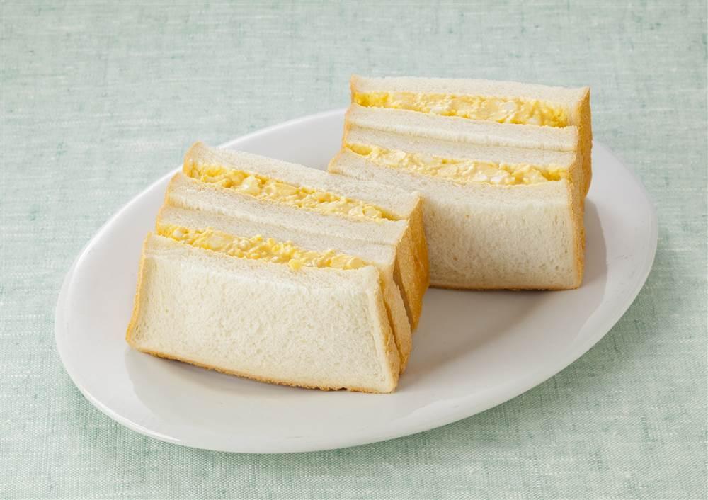 写真:レンジでかんたん!たまごサンドイッチ