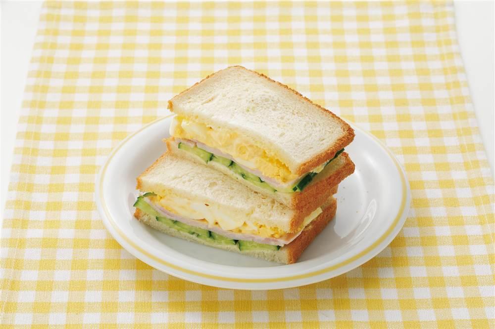 写真:たまごサンドイッチ