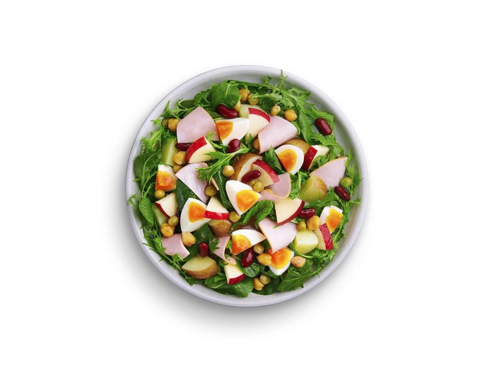 写真:新じゃがとりんごのパワーサラダ