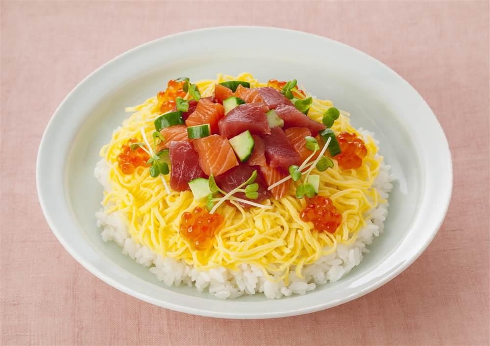 写真:かんたんちらし寿司