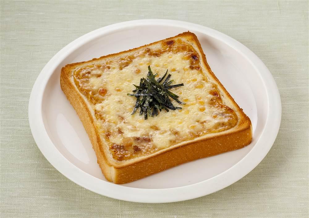 写真:てりやきマヨのチーズトースト