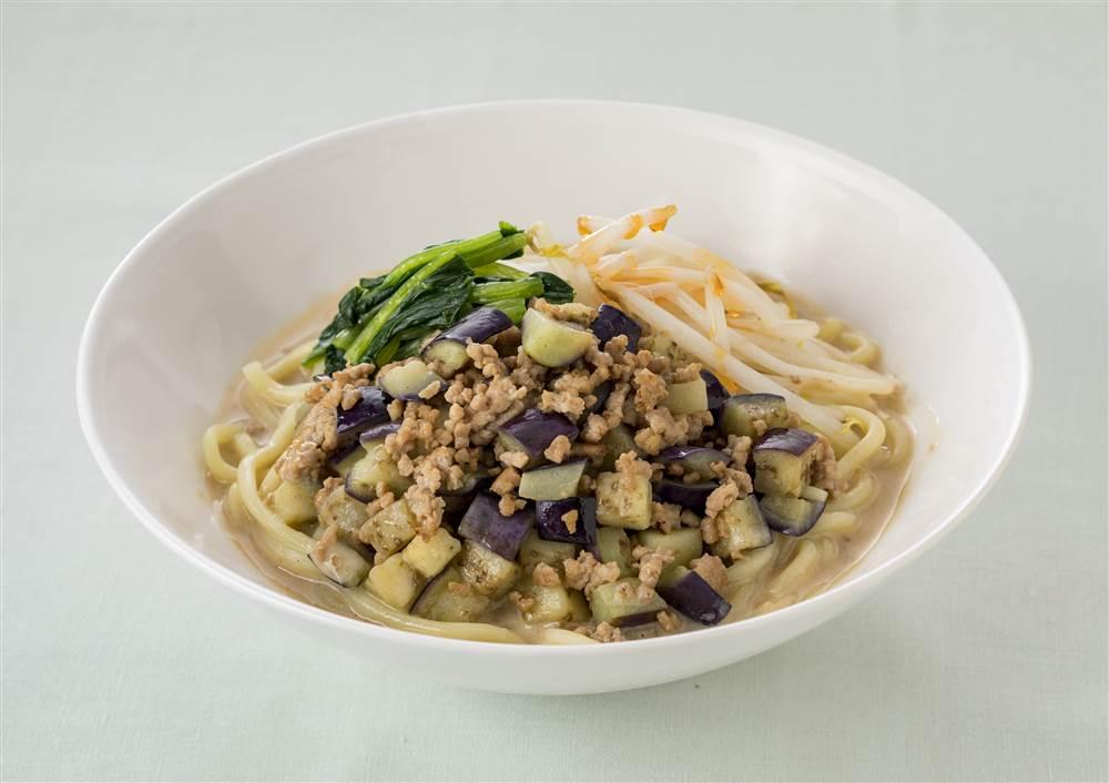 写真:深煎りごまの豆乳担々麺