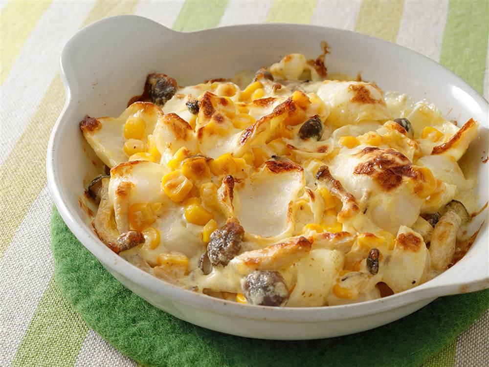 写真:ゆりねのマヨチーズ焼き
