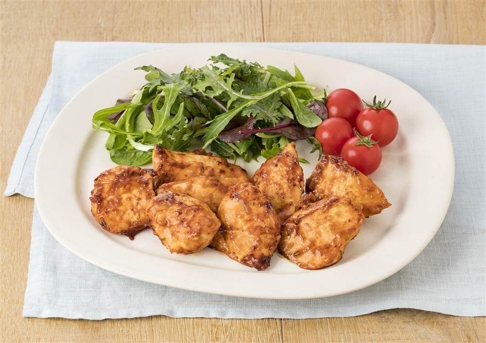 写真:鶏むね肉のケチャマヨ焼き