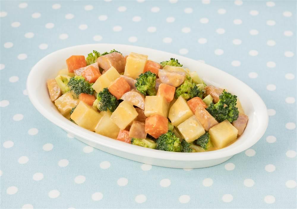 写真:温野菜のコロコロサラダ