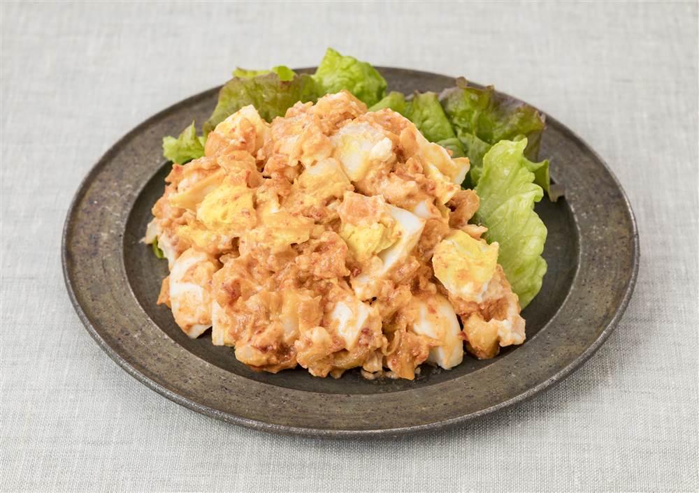 写真:キムチとポテトサラダ