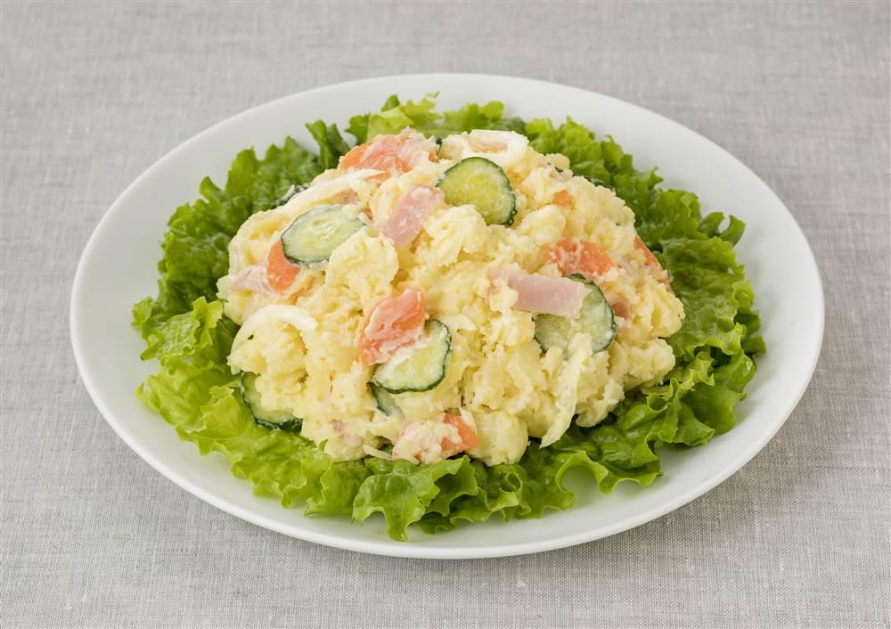 写真:アマニ油マヨのポテトサラダ