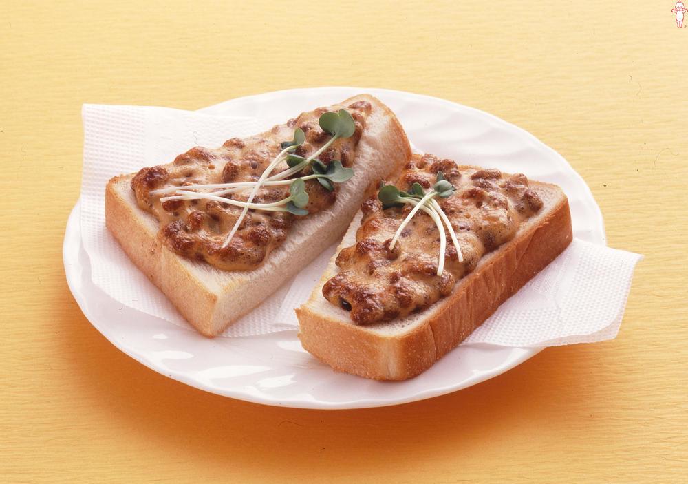 写真:納豆こんがりトースト