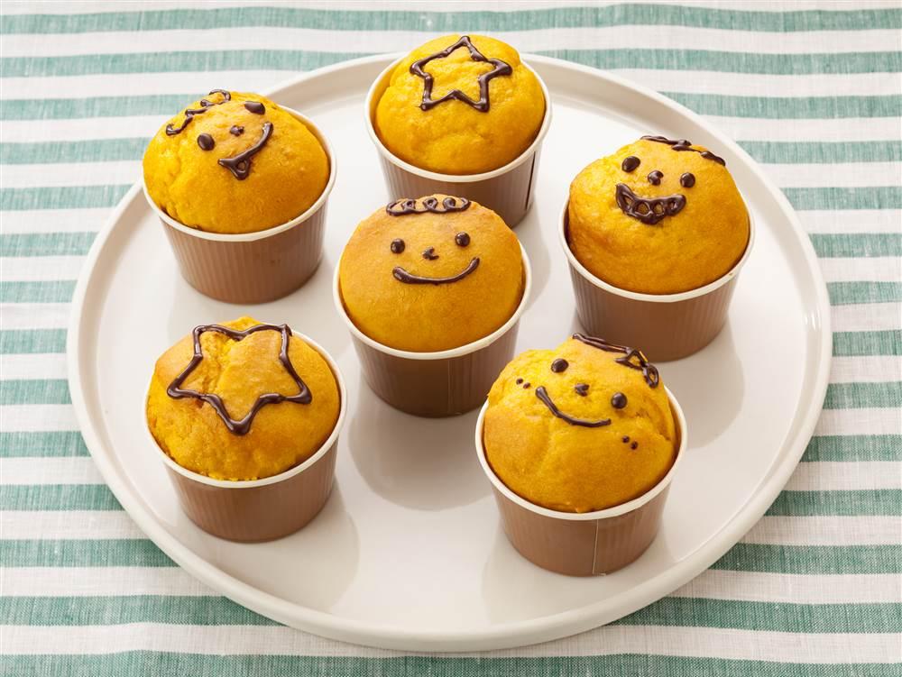 写真:マヨネーズで!ふわふわかぼちゃマフィン