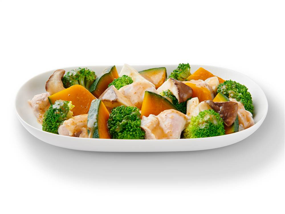 ブロッコリー サラダ かぼちゃ