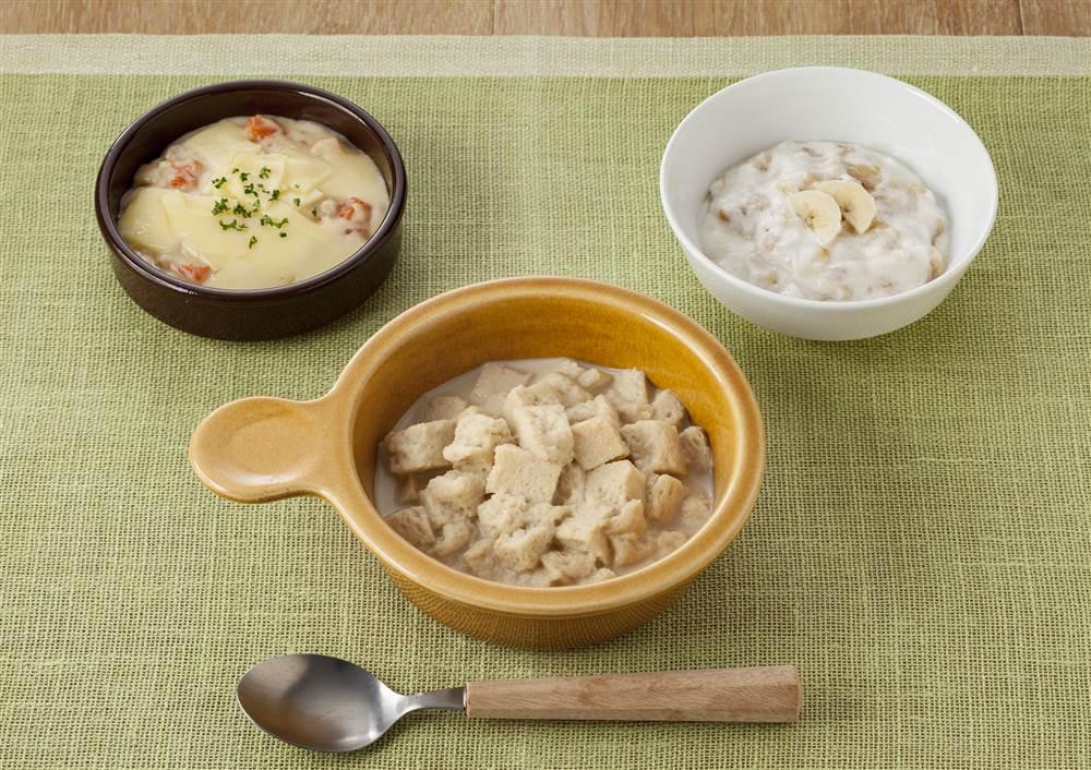 魚介の洋定食 海老と貝柱のクリーム煮のチーズのせ