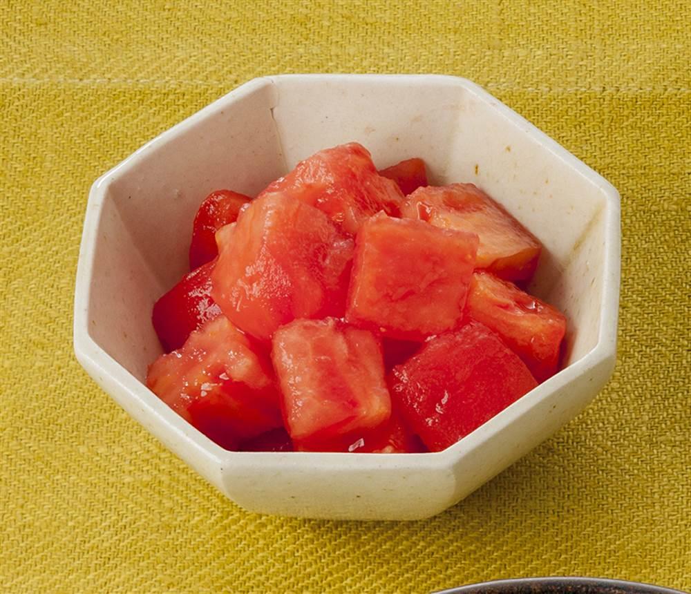 副菜:トマト