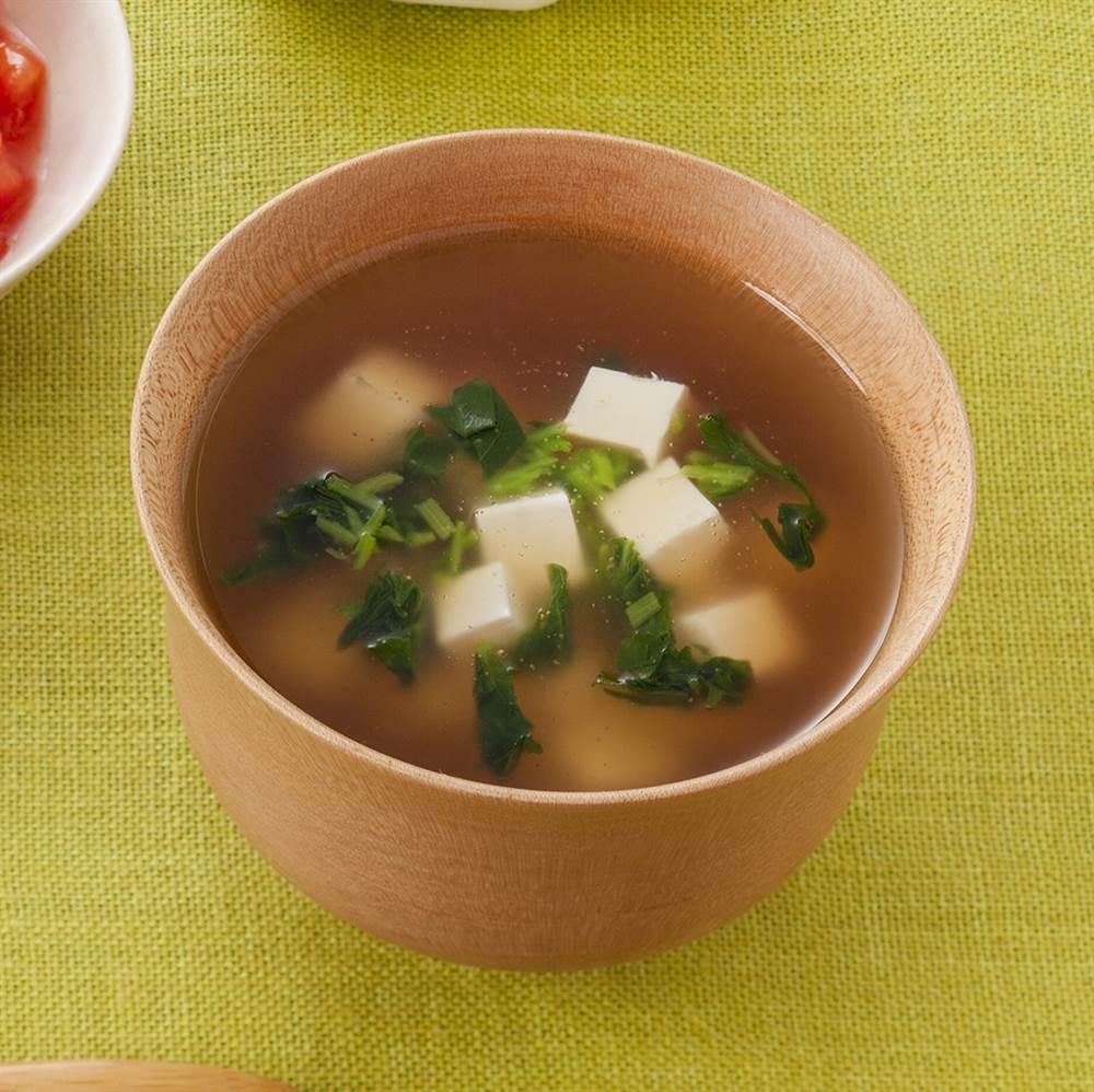 汁物:豆腐のすまし汁