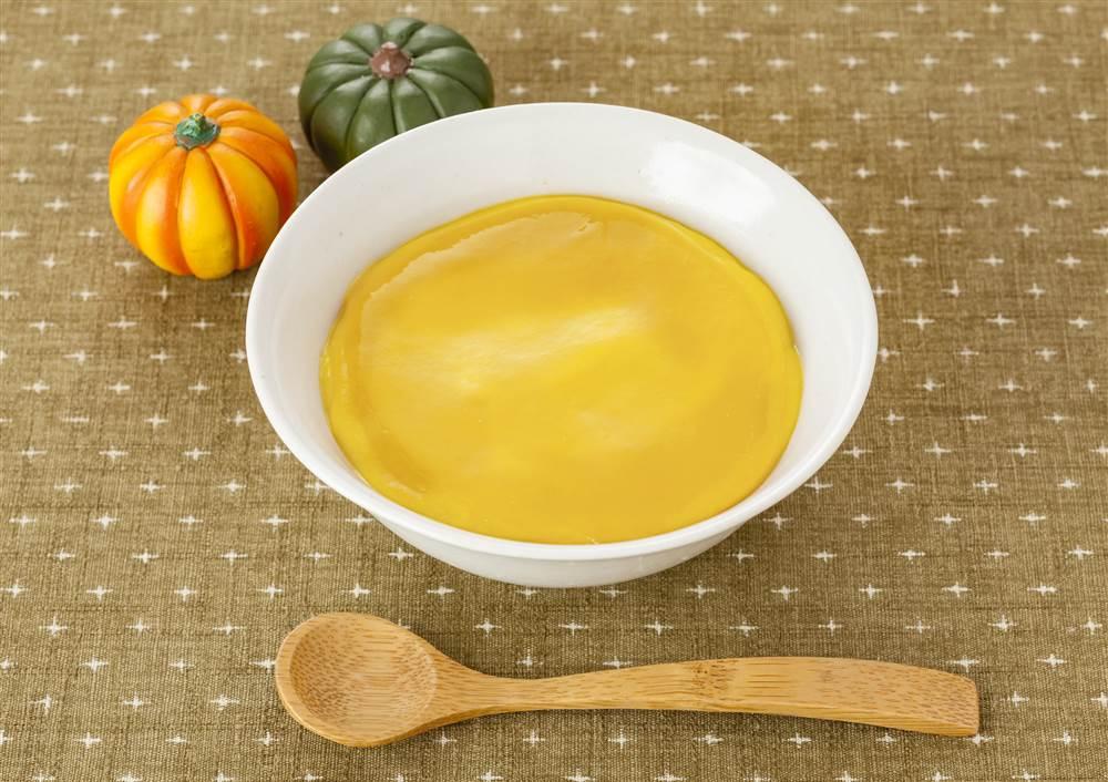 なめらか野菜 かぼちゃの鶏がらスープあんかけ